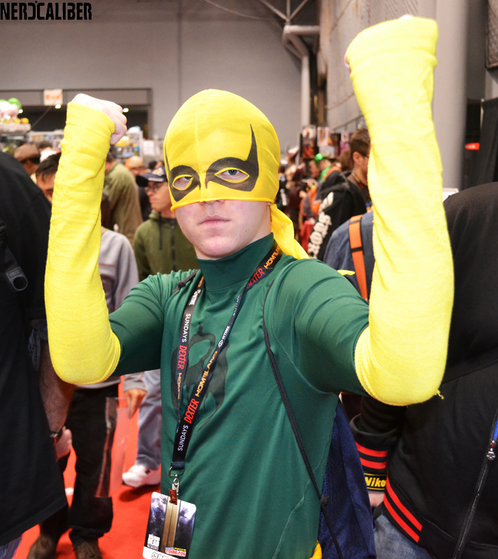 Iron Fist at The New york Comic Con