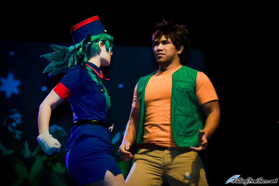 During a skit performance with Hee-Hee as Officer Jenny and Shinrajunkie as Brock from Pokémon