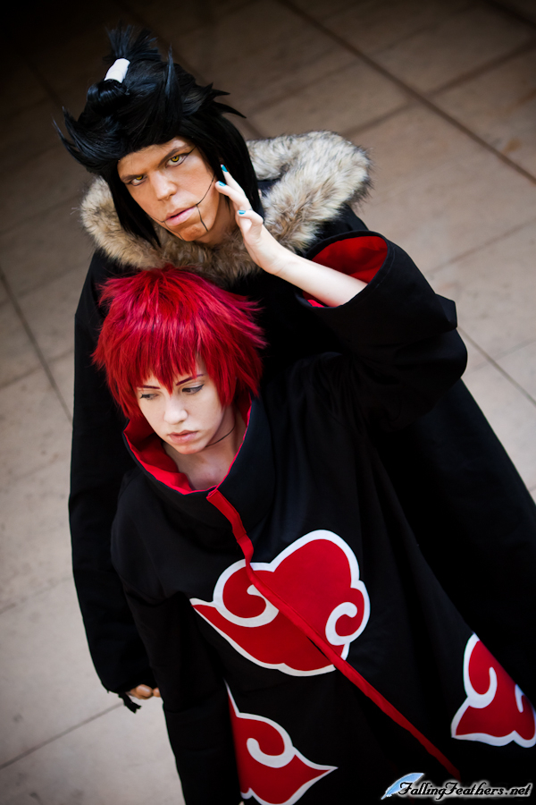 Lee and Skunx as Sasori and The Third Kazekage from Naruto