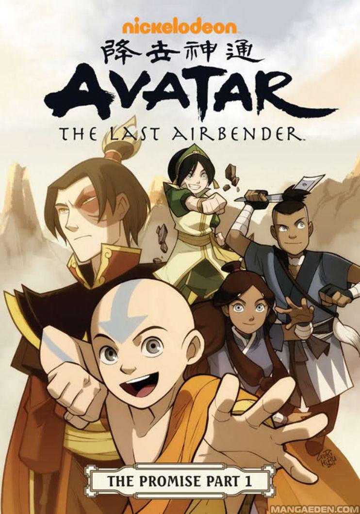 review avatar the last airbender the promise parts  between the time of avatar
